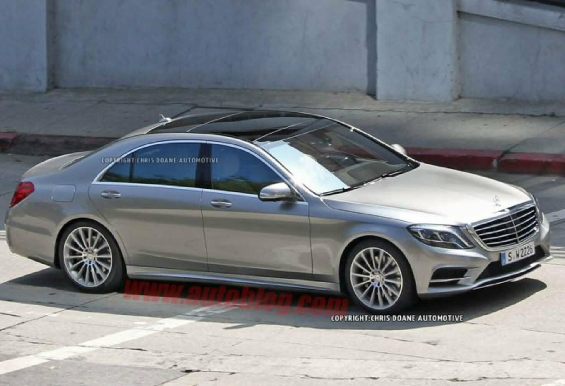 Scheda tecnica rimappatura centralina Mercedes CLASSE S
