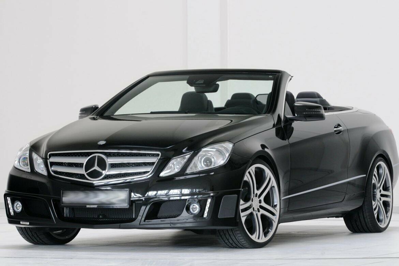 Scheda tecnica rimappatura centralina Mercedes CLASSE E CABRIO