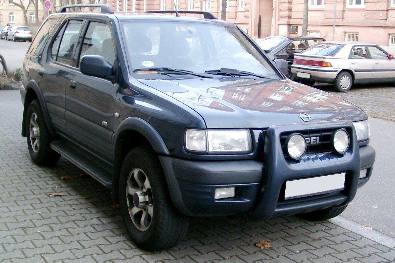 Scheda tecnica rimappatura centralina Opel FRONTERA