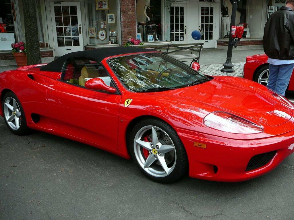 Scheda tecnica rimappatura centralina Ferrari 360 MODENA SPIDER
