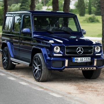 Scheda tecnica rimappatura centralina Mercedes CLASSE G