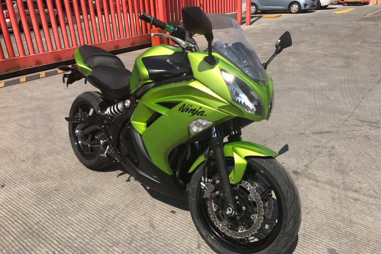 Scheda tecnica rimappatura centralina Kawasaki moto EX650