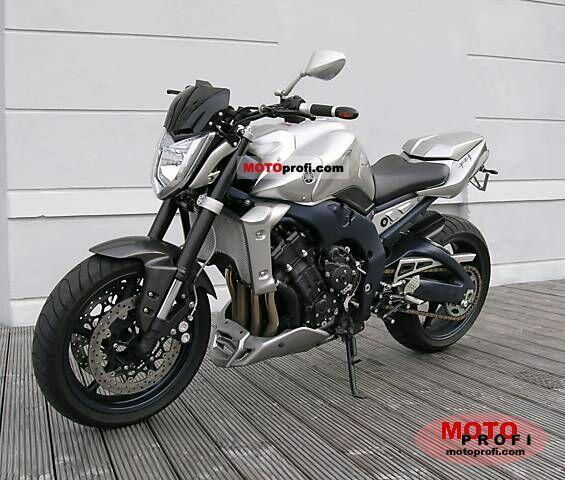 Scheda tecnica rimappatura centralina Yamaha moto FZ1 1.0 06-08